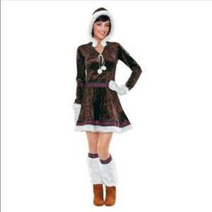 Target Eskimo Halloween Costume Dress Boot Toppers